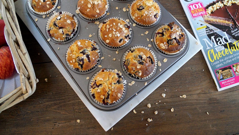 Gluten Free Blueberry Breakfast Muffins