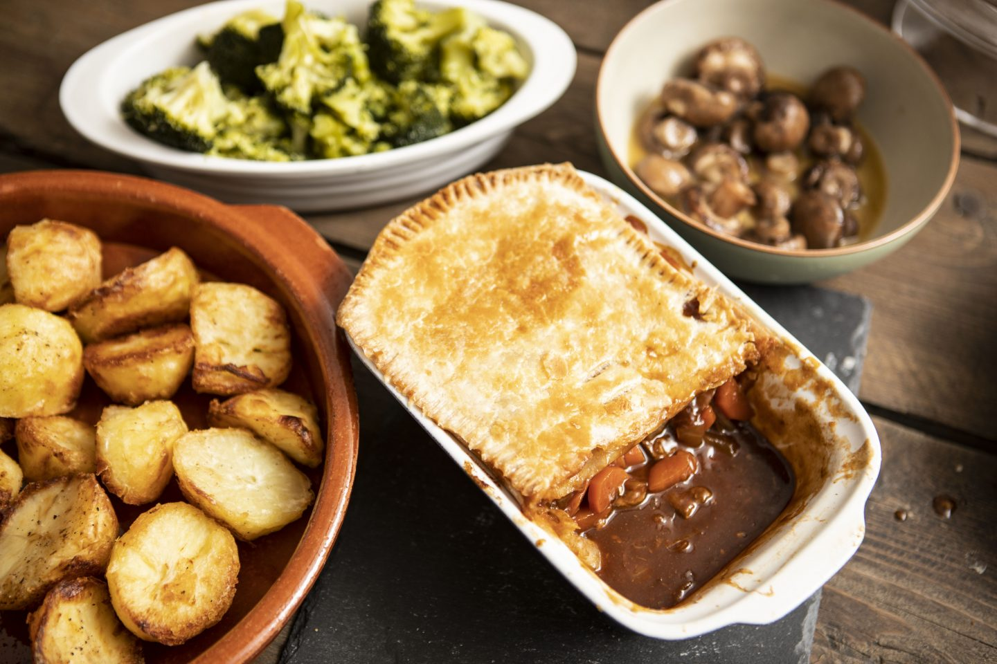 Gluten Free Steak & Ale Pie