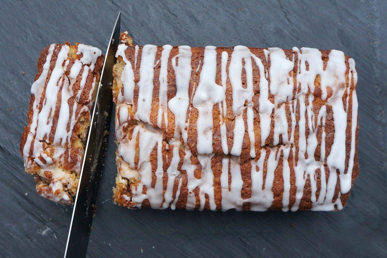 Gluten Free Apple & Cinnamon Cake